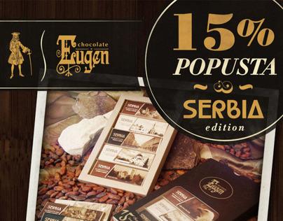 """15% popusta na čokolade iz edicije """"Serbia"""""""