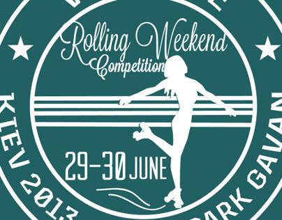 roller weekend poster