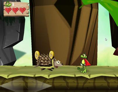 Froggy - A Superfrog Remake
