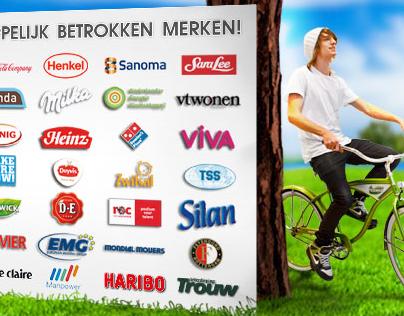 Nederland op de fiets