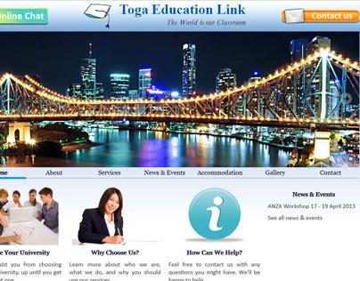 Toga Education Link website