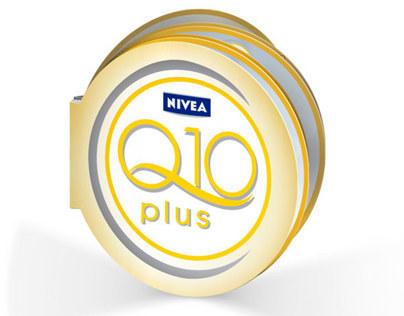 Diferentes piezas realizadas para NIVEA