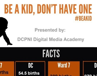 Local Teen Pregnancy Infographic