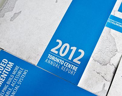 Toronto Centre 2012 Annual Report