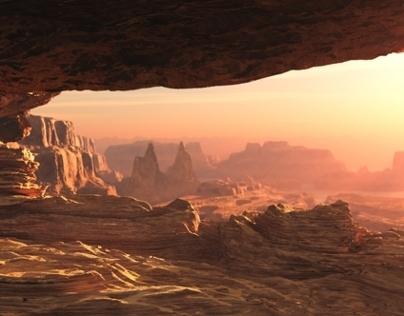 Grand Canyon - CG Environment