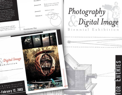 Photo & Digital Image Biennial Exhibition collateral