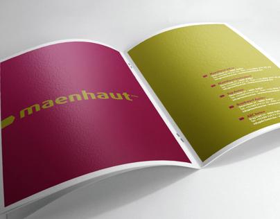 Brochure Maenhaut