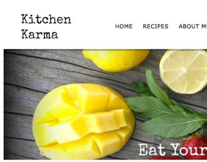 Kitchen Karma Website
