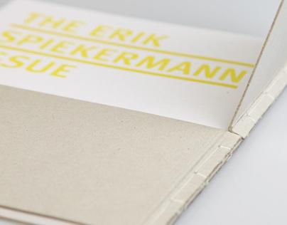 The Spiekermann Issue