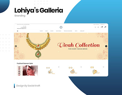 Design & Develop Jewellery Online Shop | Wordpress