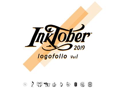 Inktober 2019 logo chalenge vol 1