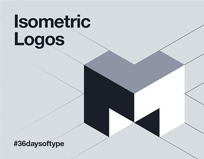 20 Isometric Perspective Logos