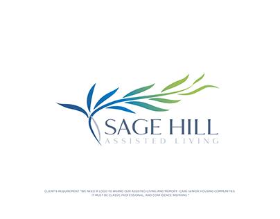 Sage Hill logo design project