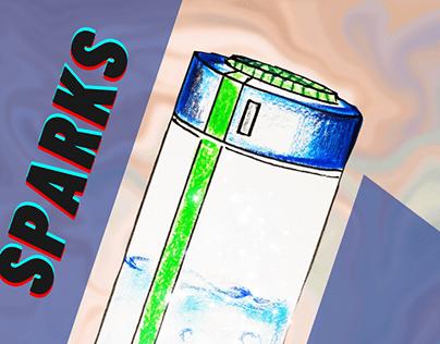 Multi-utility Water Bottle