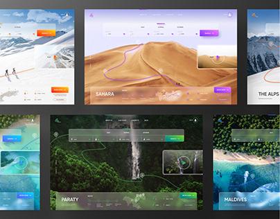 Travel Agency Concept. Season4Reason