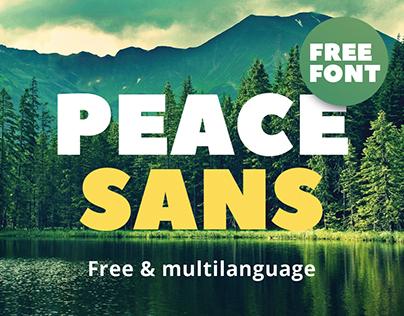 Peace Sans | FREE FONT