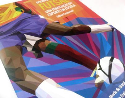Ilustração de capa e miolo - Futsal