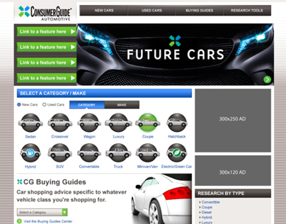 Consumer Guide Automotive Website Design