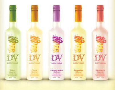 Dirty Vodka | Olive Vodka Concept