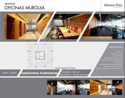 Oficinas Murguía - DF
