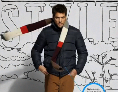 """Esquire, February 2013, """"Style Guide"""" Opener"""
