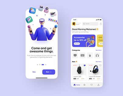 Gaming shop App - eCommerce