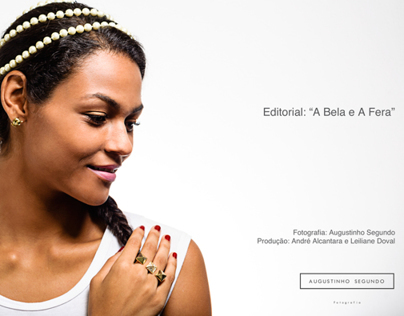 Editorial A Bela e A Fera - The Beauty and the Beast