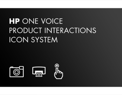ICON SYSTEM | HP One Voice Brand System