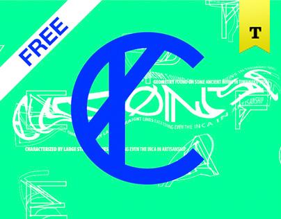 CHRONIC (Free Font)