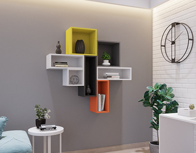 WALL SHELVES FOR REBOOTSPACES