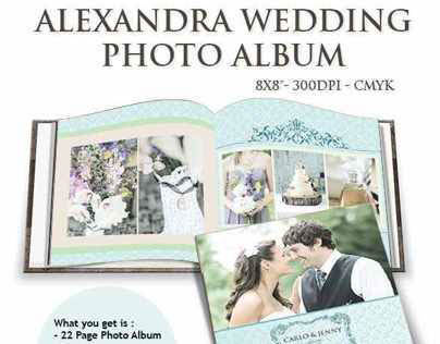 Alexandra Wedding Photo Album