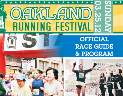2012 Oakland Runing Festival Program