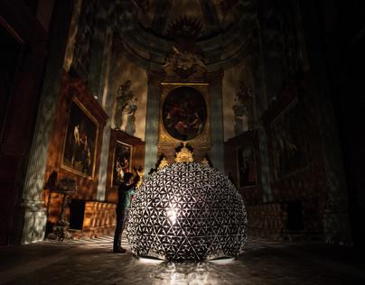 Lotus Dome by Daan Roosegaarde