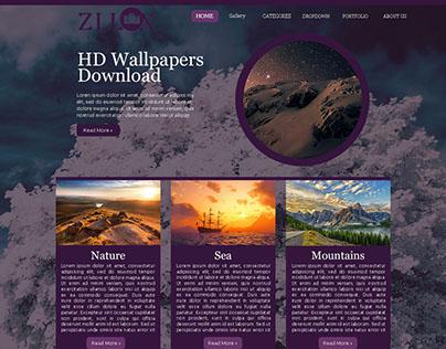 Zllox Website Template