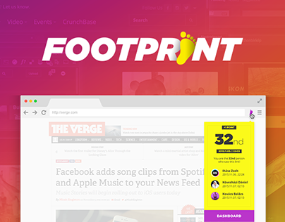 Footprint Browser Extension