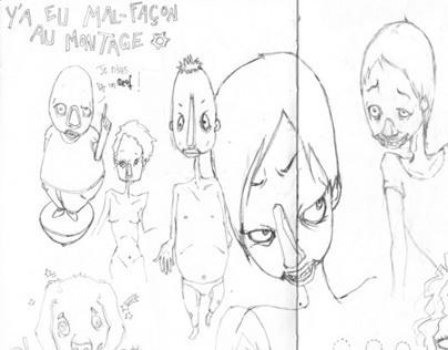 Sketch / Des gribouilles