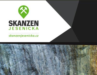 SKANZEN JESENICKA brochure and logo design
