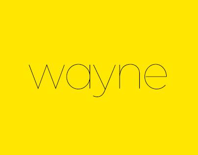 Wayne – Typeface