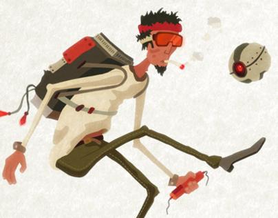 Future Wasteland Characters