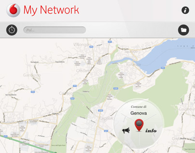 Vodafone My Network 2.x for iPad