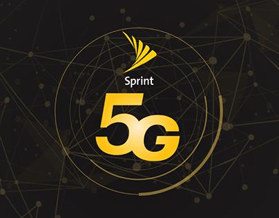 Sprint//5G Logo