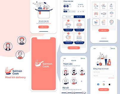 Salmon Cook UI/UX Design