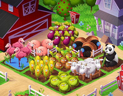 Farm mobile game
