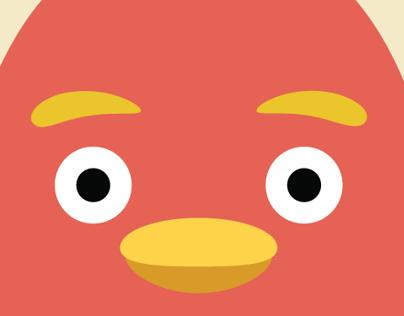Paint Bird Character