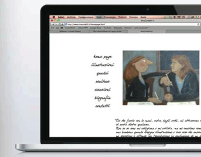 Web site for the artist Rita Cardelli - ritacardelli.it