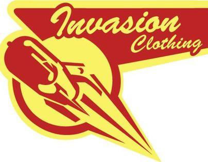 Invasion Clothing Logo Project