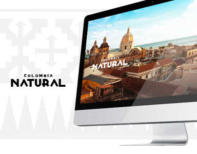 Colombia Natural // Website Concept