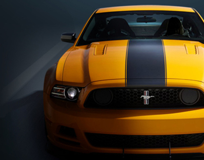 Ford Motor Company: Ford Mustang INFOGRAPHIC