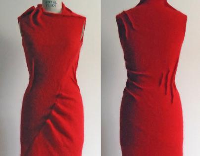 Red Mohair Dress
