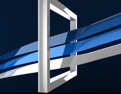 Logo 3D Ribbons